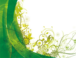 _green_vector_summer_background
