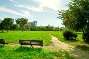 公園,蚊,アロマ
